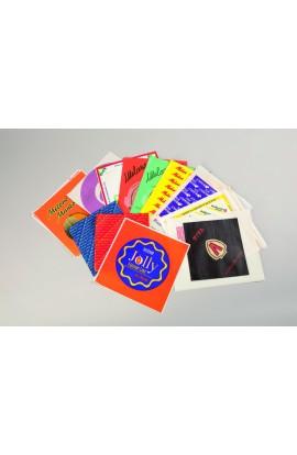 Geschenkpapier mit Anti-Feuchtigkeitsbehandlung
